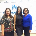 With Dr. Elisa Jimenez and Counselmemeber Cruz Baca