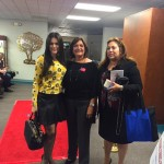 With Dr. Elisa Jimenez and Counselmember Cruz Baca