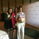 With Dr. Elisa Jimenez and Reyna Del Haro