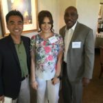 West Covina unified school district board member, Mr. Michael Flowers and mayor of West Covina James Toma